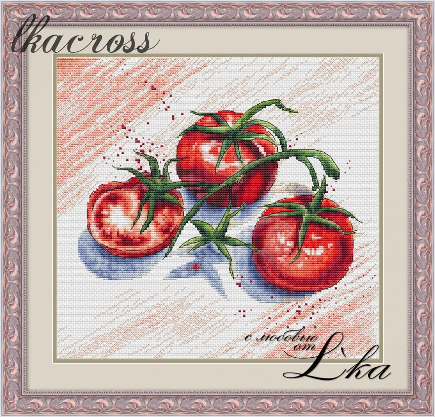XStitch pattern Tomatoes